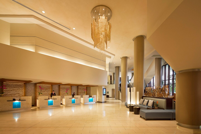 Miami Marriott Lobby