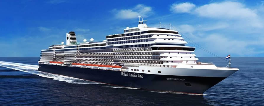 Holland America Line's Right Sized ms  Koningsdam