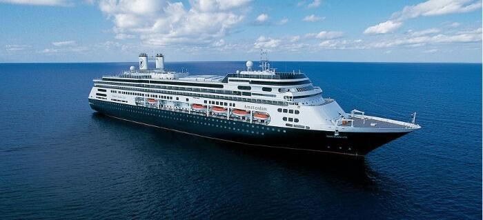 Holland America Line's Right Sized ms  Amsterdam