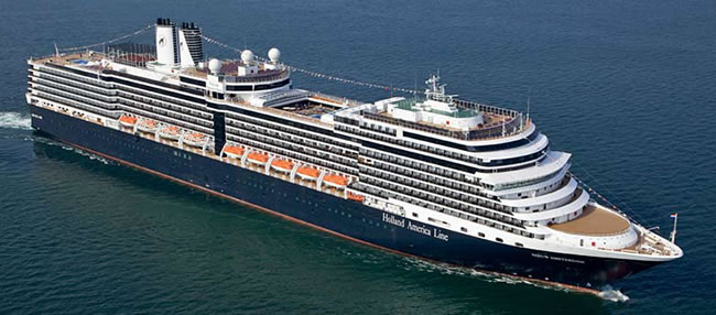 Holland America Line's Right Sized  Nieuw Amsterdam
