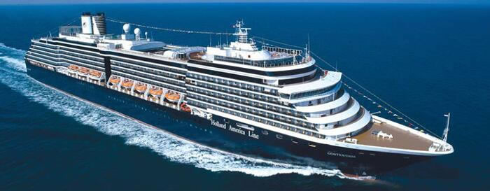 Holland America Line's Majestic ms Oosterdam