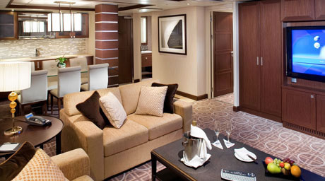 Celebrity Solstice Royal Suite