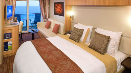 Celebrity Solstice Oceanview Stateroom with Veranda