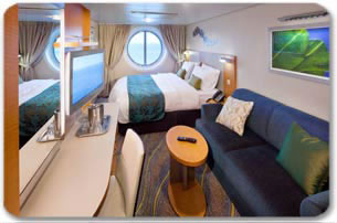 Royal Caribbeans Allure of the Seas Oceanview Stateroom