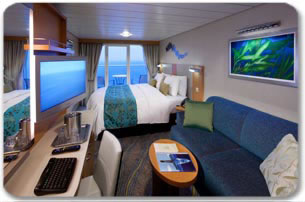 Royal Caribbeans Allure of the Seas Ocean View with Balcony Stateroom
