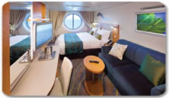 Royal Caribbeans Oasis of the Seas Oceanview Stateroom