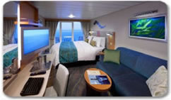 Royal Caribbeans Oasis of the Seas Oceanview w Balcony Stateroom