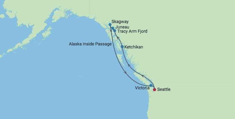 CME AlaskaCruise Conference Round-trip Seattle, Washington on