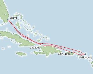 Royal Caribbean Western Caribbean Itinerary Map