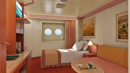 Porthole Upper/Lower Stateroom, 1A PT