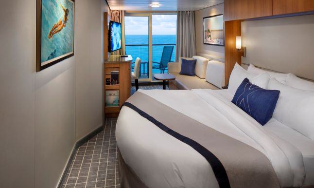 Deluxe Oceanview Stateroom with Veranda, 1A