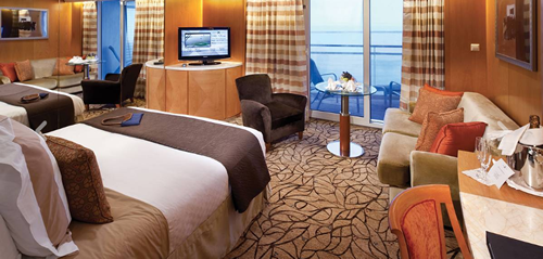 Sky Suite Stateroom, S1