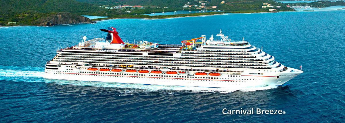 Carnival's Fun Carnival Breeze