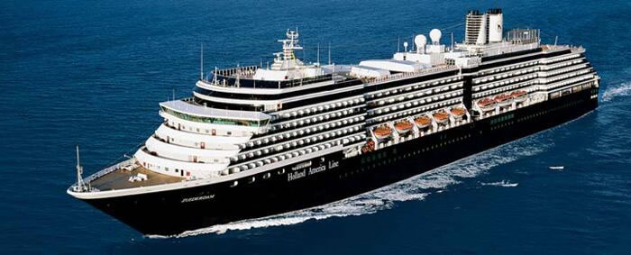 Holland America Line's Lovely ms Zuiderdam