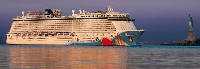 Norwegian Cruise Lines's Wonderous Norwegian Breakaway