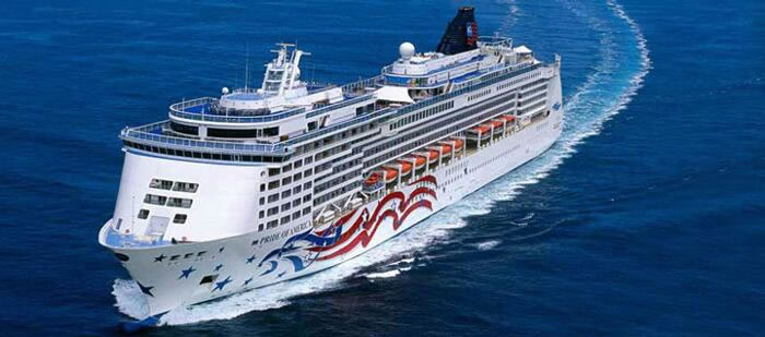 Norwegian Cruise Lines&apos;s One of a Kind  NCL&rsquo;s <em> Pride of America</em>