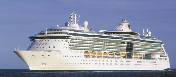 Royal Caribbean's <em>Brilliance of the Seas</em>