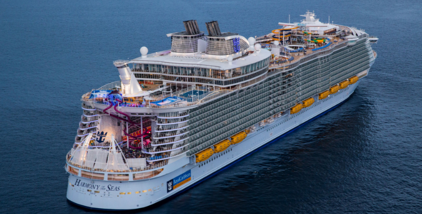 Royal Caribbean's <em>Harmony of the Seas</em>